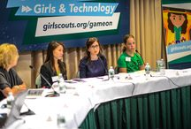 Game On: Girls & Technology / An interactive event exploring how to encourage girls to get involved with technology and video games / by Girl Scouts