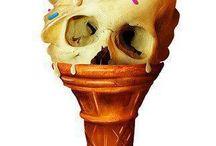 I like skulls / My love of skull art... / by Anthony Guzman
