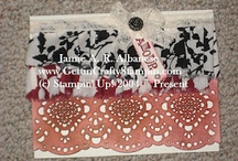 Gettin' Crafty Stampin' Up! / Craftin' Ideas that are easy and FUN / by Jamie Albanese