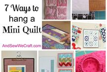 Quilting / by Cook Clean Craft