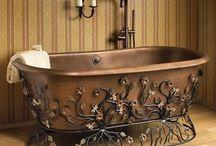 bathrooms / by Debbi Morden Tearoe