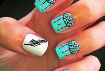 nail art / by Brenna Riddell