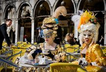 Venice, Italy Carnivale costumes / by CL Coyne