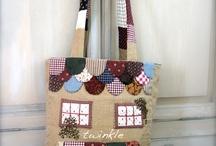 arte patchwork,costurinhas! / patchwork / by Renata Laux