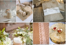 Burlap and lace / by Vicki Armstrong