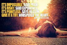 inspiration/quotes / by Rebecca Sanderson