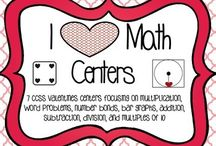 Math centers / by Erin Bond