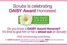 Nurse Awards   Nurses Rock   Heroes in Nursing  / Scrubs would like to recognize and honor today's heroes in nursing. This board is dedicated to awards and honors that recognize nurses for the awesome work they do every day!  #thanks #appreciation #nursesweek #DaisyAward #InspiredComfortAward #nursesrock / by Scrubs Magazine