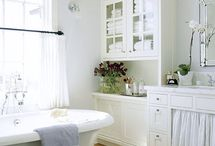 Bathrooms / Bathroom design and decorating ideas that inspire me to re-decorate my bathroom. / by Rachel @ Creative Homemaking