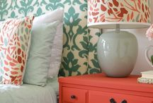 Bedroom colors / by Gina McClure
