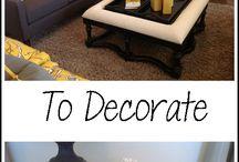 Decorating Ideas / by Angela Meek