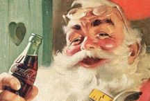 Coca cola santas and stuff / by Melanie Park
