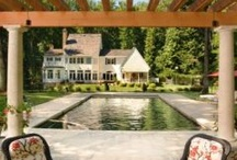 pools & pool houses / by Fridge Coaster®