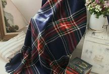 plaids--blankets--granny squares--quilts / by Ina Korevaar