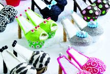 cakes, cupcakes, cookies & candy  / by E Elm - ELM Boutique