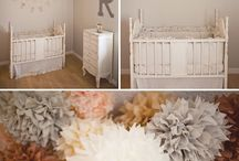 Baby girl room ideas / by Charlynn Mayben Dick