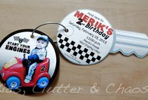 Race car party / by Stephanie Packer-Henderson