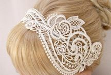 Brides Wedding Hair Pieces / by A Touch Of Class An Evening Of Elegance LLC Wedding & Events