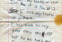 Kiddo's say the darndest things. Lol / by Jamie R