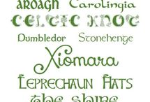 fonts / by Amy McCarter