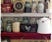 mason jars / by Deryl Turner Vallett