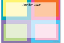 Color Blocking Trend / by The Stationery Studio