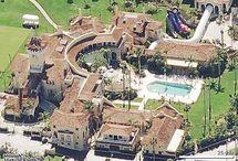 Celebrity houses / by Ashley Hartz - A Hartz Design