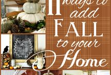 Fall deco / by Nicole Wallace