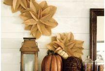 autumn decor / by Cheryl Smith