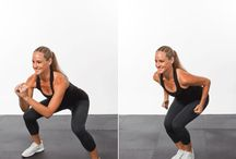 At Home Workouts / Workouts for when I can't get to the gym! / by Ashley Shade