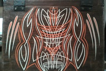Pinstriping / by Heddy Anne Demarest