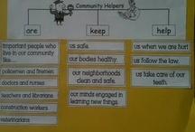 social studies anchor charts / by Vanessa Shearman