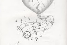 Tattoo / music tattoo ideas / by Jacquie Berry