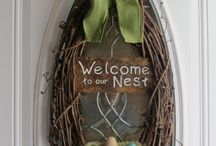 Wreaths / Door decor / by Andy Rossetti