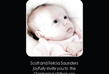 Baptism/Christening Invitations / by metrobabycards