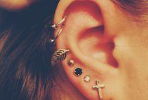 Piercings/ Tattoos  / by Heather Shirkey