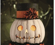 Fall and Halloween / fall and Halloween decor. / by Peggy Zmrhal