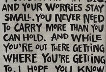Words of Wisdom / by Stacie Davidson