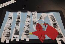 ART: OTHER ARTISTS  / Stuart Davis, Jim Dine, Modigliani, Victor Vasarely, George Rodrigez (Blue Dog),  Kandinsky, Klimt, Lois Ehlert,  Hundertwasser, Ben Shahn, Frank Stella, Romare Bearden,  Fernand Leger, Britto, Cassatt, Rizzi. Pollock, O'Keeffe, Rothko, Hiroshige and others  / by Tess Davis