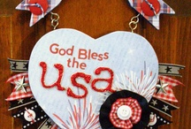 Buttons Galore: Patriotic Crafts / Using buttons to celebrate the USA. Patriotic Crafts / by Buttons Galore and More
