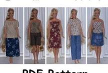 Barbie clothes / by Jennifer Rawlings