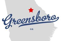 Greensboro, GA / Greensboro, Georgia - Home of Lake Oconee / by Jonathan and Alyce Vining