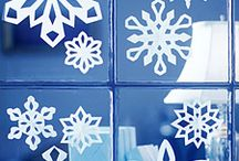 Snowflakes / A collection of snowflake ideas, so we can make some fun snowflakes to send to the kids of Sandy Hook elementary school. / by April Duritza