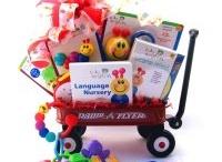 new baby gift basket / by Randalynn Wrinkle