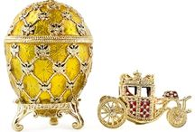 Russian Imperial Faberge Eggs / Buy hand made Russian Faberge eggs at www.BestPysanky.com / by BestPysanky.com