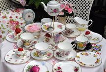 cups and saucers / by Lori