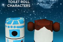 Star wars crafts / by Manualidades conmishijas