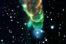 Space Tornadoes, Baby Stars, and Ancient Galaxies / Infrared Camera Sees Through Stardust to the Edge of the Universe: http://to.pbs.org/ISKrhm, Photos via NASA / JPL-CALTECH  / by NewsHour