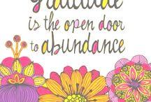 Gratitude / by Flying Yogini