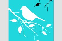 bird silhouette / by Marla Herrington